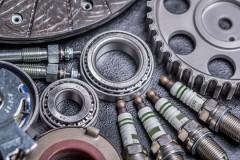 auto parts arrangement
