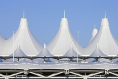 Denver International Airport terminal architecture