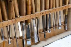 carving tool storage rack